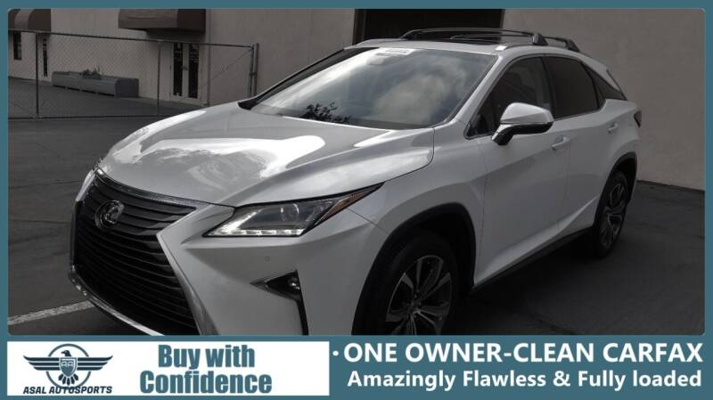 2016 Lexus RX 350 for sale at ASAL AUTOSPORTS in Corona CA