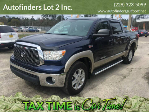 2011 Toyota Tundra for sale at Autofinders in Gulfport MS