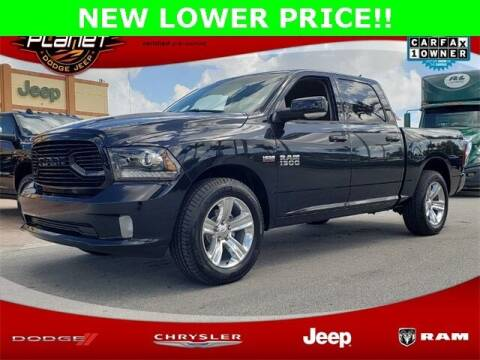 2018 RAM Ram Pickup 1500 for sale at PLANET DODGE CHRYSLER JEEP in Miami FL