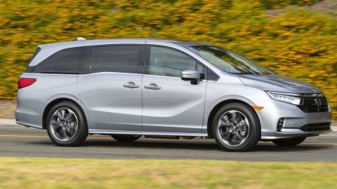 2022 Honda Odyssey for sale at Diamante Leasing in Brooklyn NY