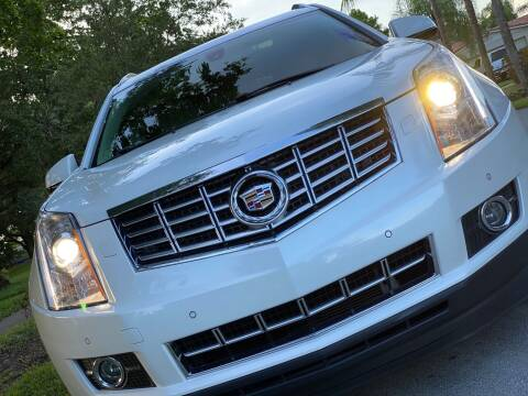 2013 Cadillac SRX for sale at HIGH PERFORMANCE MOTORS in Hollywood FL