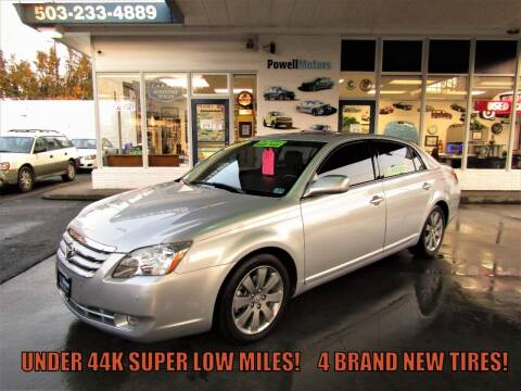 2007 Toyota Avalon for sale at Powell Motors Inc in Portland OR