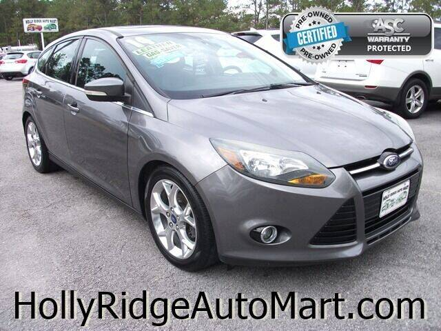 2014 Ford Focus for sale at Holly Ridge Auto Mart in Holly Ridge NC
