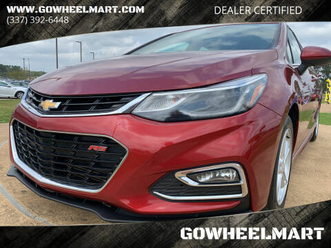 2018 Chevrolet Cruze for sale at GOWHEELMART in Leesville LA
