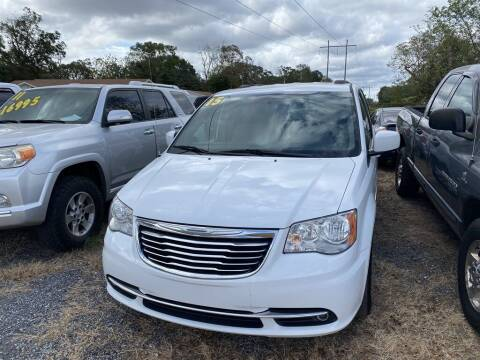 2015 Chrysler Town and Country for sale at THE COLISEUM MOTORS in Pensacola FL