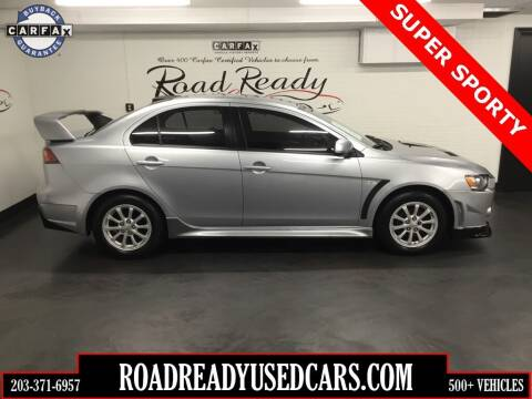 2013 Mitsubishi Lancer for sale at Road Ready Used Cars in Ansonia CT