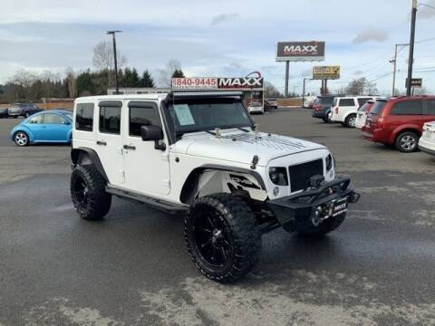 2014 Jeep Wrangler Unlimited for sale at Maxx Autos Plus in Puyallup WA