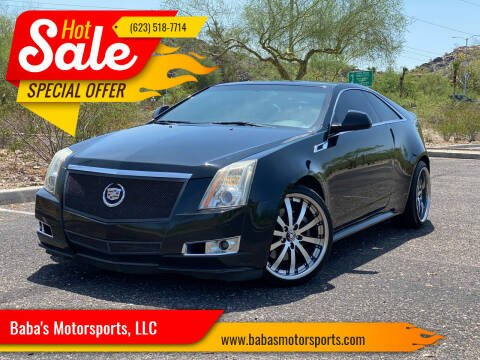 2011 Cadillac CTS for sale at Baba's Motorsports, LLC in Phoenix AZ