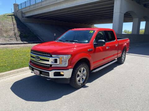 2018 Ford F-150 for sale at Apple Auto in La Crescent MN