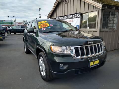 2011 Jeep Grand Cherokee for sale at Devine Auto Sales in Modesto CA
