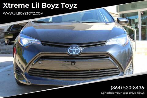 2019 Toyota Corolla for sale at Xtreme Lil Boyz Toyz in Greenville SC