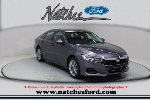 2021 Honda Accord for sale at Auto Group South - Natchez Ford Lincoln in Natchez MS