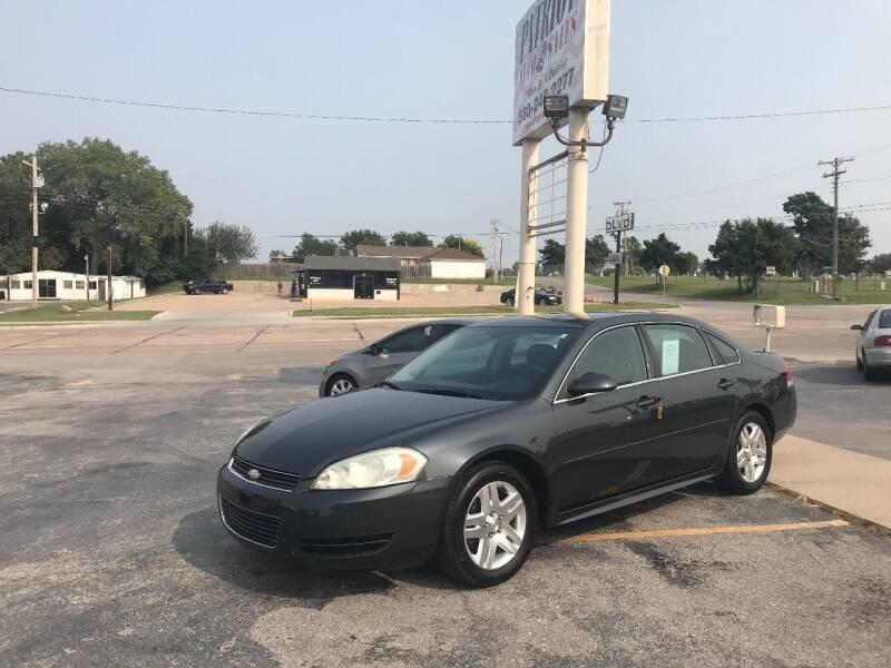 2012 Chevrolet Impala for sale at Patriot Auto Sales in Lawton OK