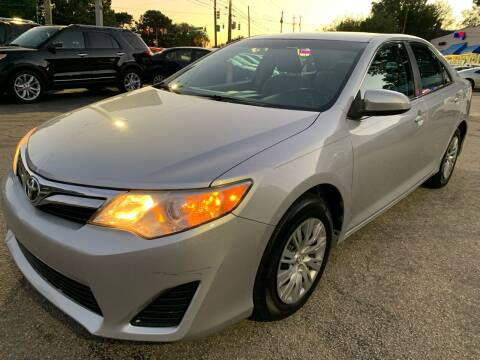 2014 Toyota Camry for sale at Capital Motors in Raleigh NC