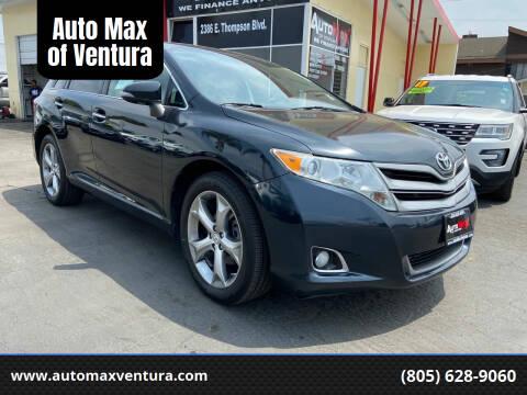 2013 Toyota Venza for sale at Auto Max of Ventura - Automax 3 in Ventura CA