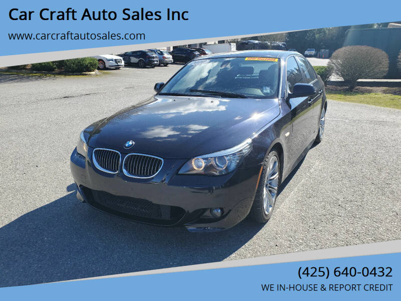 2010 BMW 5 Series for sale in Lynnwood, WA