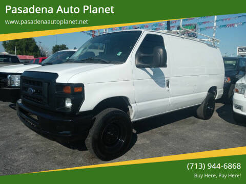 2012 Ford E-Series Cargo for sale at Pasadena Auto Planet in Houston TX