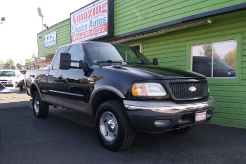 2001 Ford F-150 for sale at Amazing Choice Autos in Sacramento CA