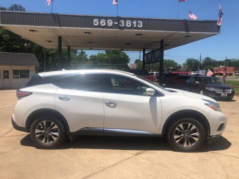 2016 Nissan Murano for sale at BOB SMITH AUTO SALES in Mineola TX