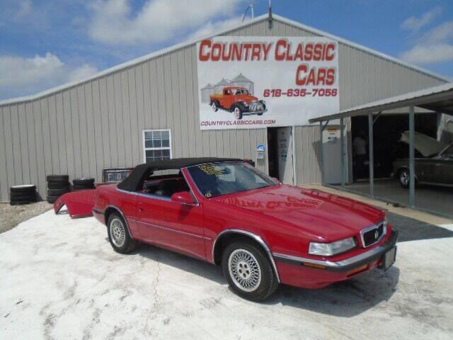 1991 Chrysler TC for sale in Staunton, IL