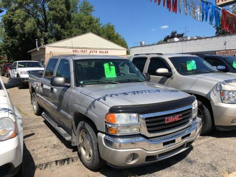 2006 GMC Sierra 1500 for sale at Holiday Auto Sales in Grand Rapids MI
