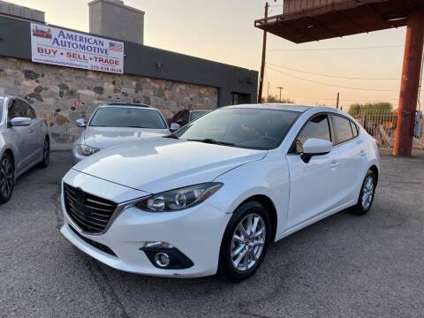 2016 Mazda MAZDA3 for sale at American Automotive , LLC in Tucson AZ