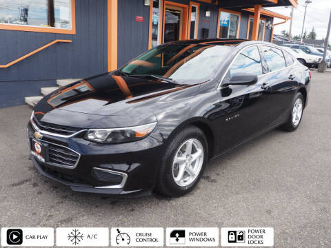 2018 Chevrolet Malibu for sale at Sabeti Motors in Tacoma WA