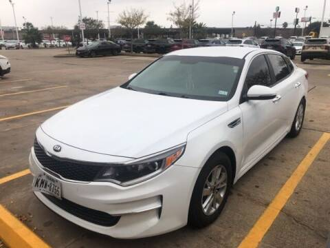 2018 Kia Optima for sale at FREDY KIA USED CARS in Houston TX