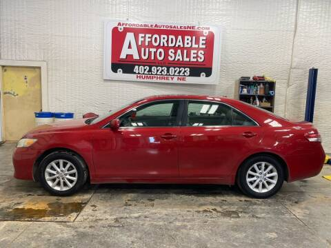 2011 Toyota Camry for sale at Affordable Auto Sales in Humphrey NE