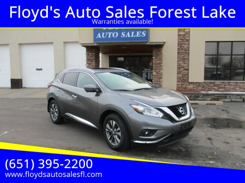 2017 Nissan Murano for sale at Floyd's Auto Sales Forest Lake in Forest Lake MN