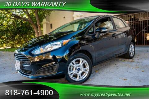 2016 Ford Fiesta for sale at Prestige Auto Sports Inc in North Hollywood CA