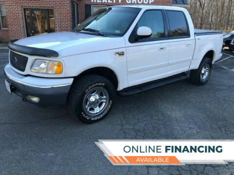 2001 Ford F-150 for sale at White Top Auto in Warrenton VA