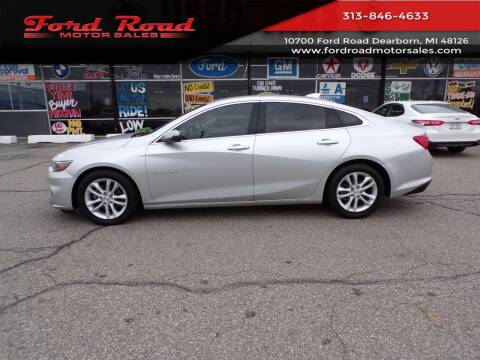 2018 Chevrolet Malibu for sale at Ford Road Motor Sales in Dearborn MI
