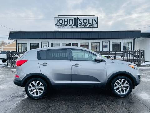 2016 Kia Sportage for sale at John Solis Automotive Village in Idaho Falls ID