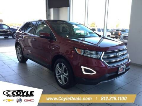 2016 Ford Edge for sale at COYLE GM - COYLE NISSAN - Coyle Nissan in Clarksville IN