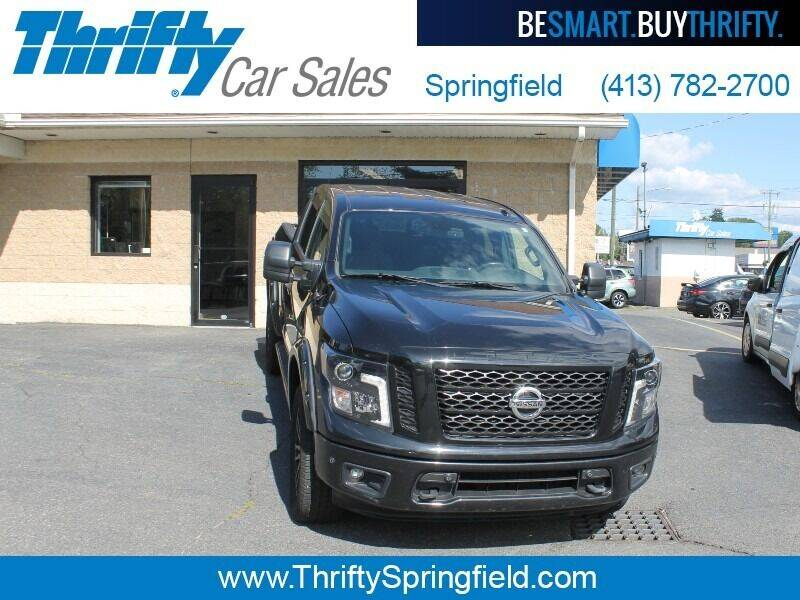 2018 Nissan Titan for sale at Thrifty Car Sales Springfield in Springfield MA