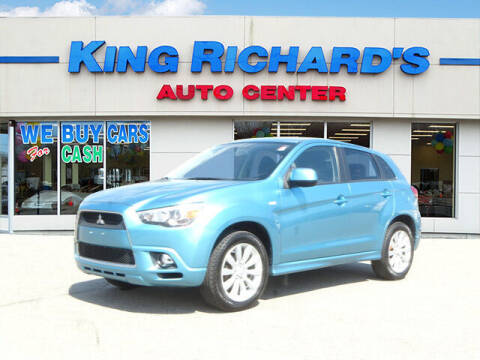 2011 Mitsubishi Outlander Sport for sale at KING RICHARDS AUTO CENTER in East Providence RI