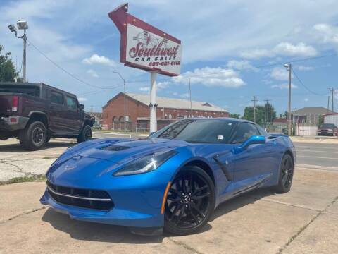 2014 Chevrolet Corvette for sale at Southwest Car Sales in Oklahoma City OK