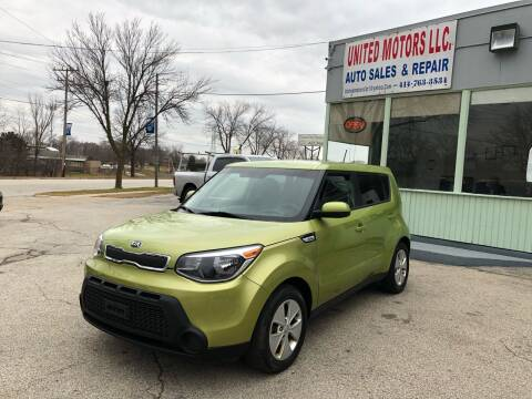 2016 Kia Soul for sale at United Motors LLC in Saint Francis WI