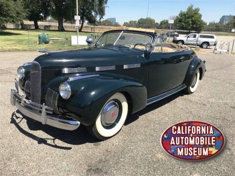 1940 LaSalle Series 52 for sale at California Automobile Museum in Sacramento CA