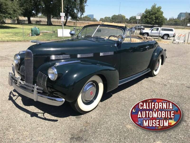 1940 LaSalle Series 52 for sale at California Automobile Museum in Sacramento CA
