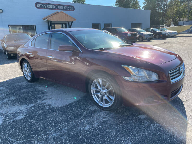 2012 Nissan Maxima for sale at Ron's Used Cars in Sumter SC
