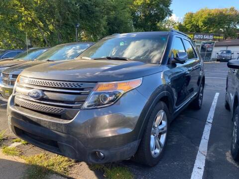2015 Ford Explorer for sale at Chinos Auto Sales in Crystal MN
