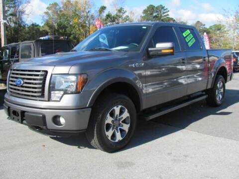 2012 Ford F-150 for sale at Pure 1 Auto in New Bern NC