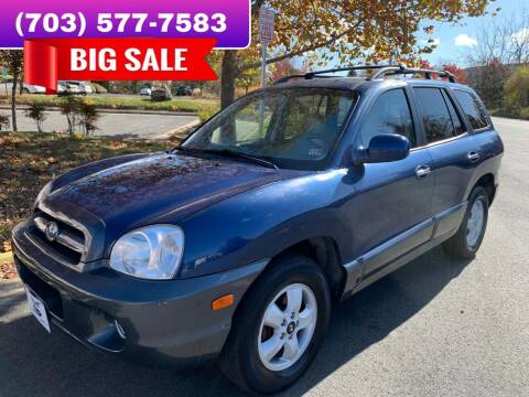 2006 Hyundai Santa Fe for sale at Dreams Auto Group LLC in Sterling VA