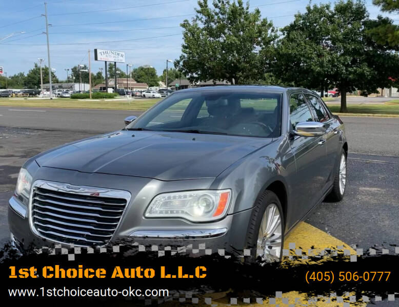 2011 Chrysler 300 for sale at 1st Choice Auto L.L.C in Oklahoma City OK