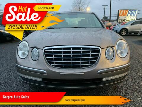 2007 Kia Amanti for sale at Carpro Auto Sales in Chesapeake VA