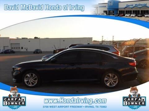 2019 Honda Accord for sale at DAVID McDAVID HONDA OF IRVING in Irving TX