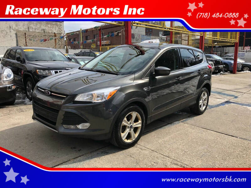 2016 Ford Escape for sale at Raceway Motors Inc in Brooklyn NY