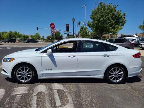 2017 Ford Fusion Hybrid for sale at Coast Auto Sales in Buellton CA
